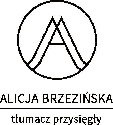 Tłumacz przysięgły  język niemiecki szczecin Alicja Brzezińska
